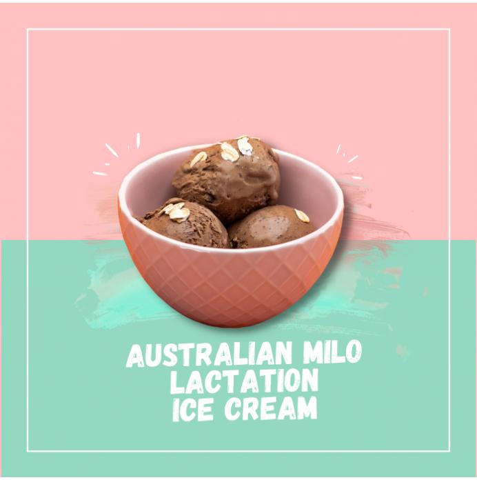 Australian Milo Ice Cream